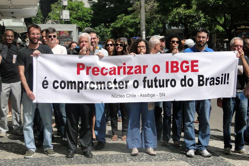 Ato 1º De Abril No Rio De Janeiro