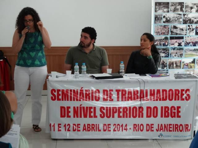 Seminário Dos Servidores De Nível Superior Do IBGE