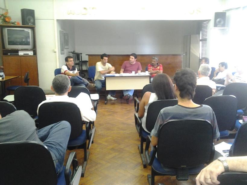 Reunião Com Coordenadores De Pesquisas No Rio