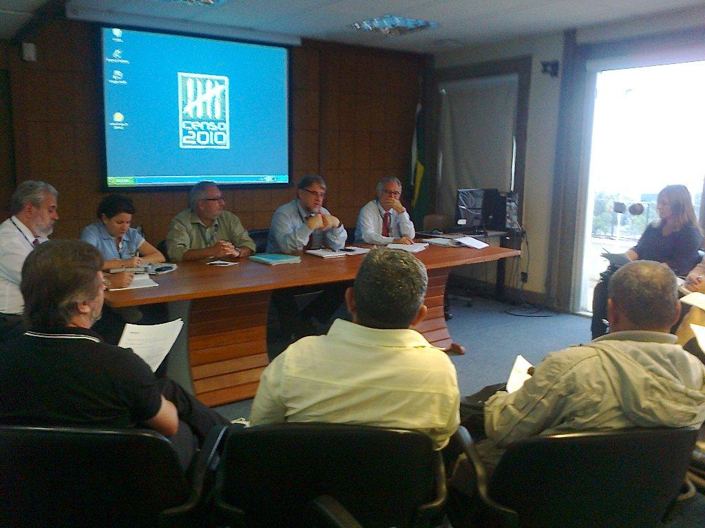 Reunião Entre ASSIBGE-SN E Direção IBGE