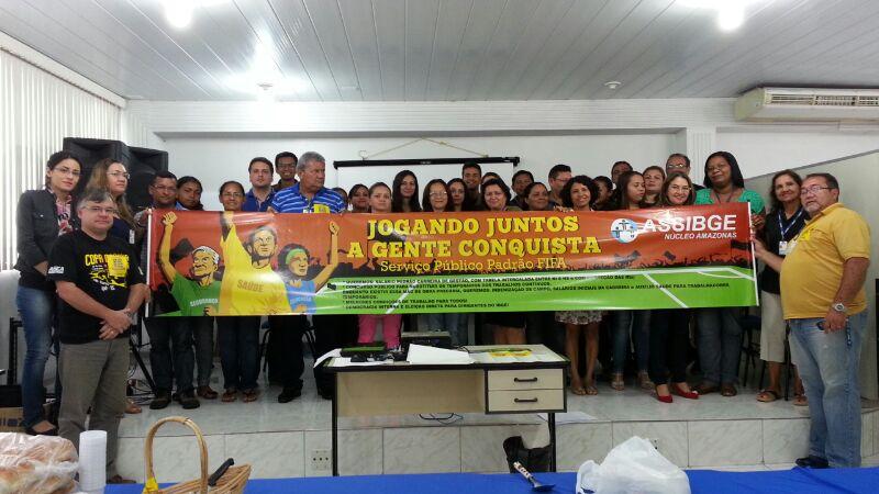 Mobilização Nacional De 19 De Março/2014 No IBGE