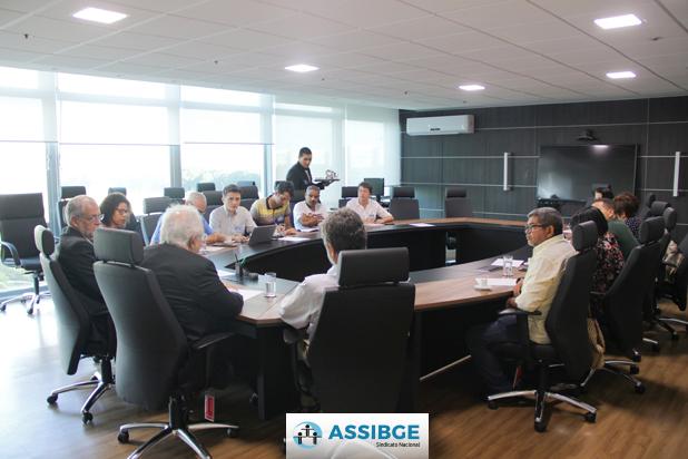 Encontro Da Executiva Nacional Da ASSIBGE Com O Secretário-executivo Do Ministério Do Planejamento, Francisco Gaetani, Em Brasília